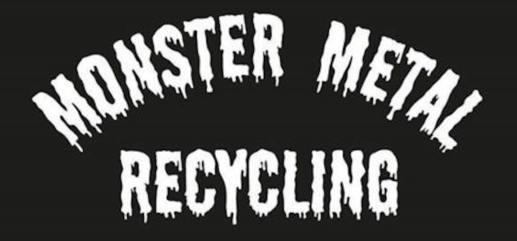 Monster Metal Pickup and Recycling Logo